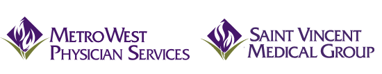 MetroWest Physician Services and Saint Vincent Medical Group logo